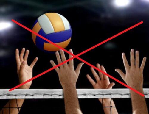 Volleyball – ist bis auf Weiteres sistiert