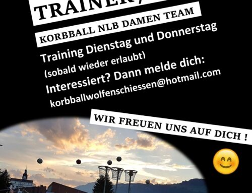 Korbball – Trainer gesucht