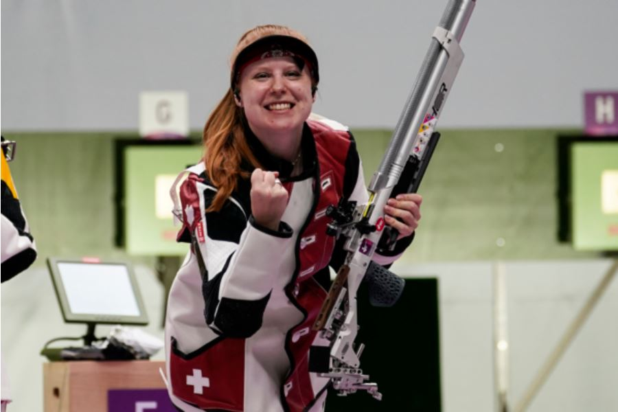 Olympiasiegerin – Empfang Nina Christen
